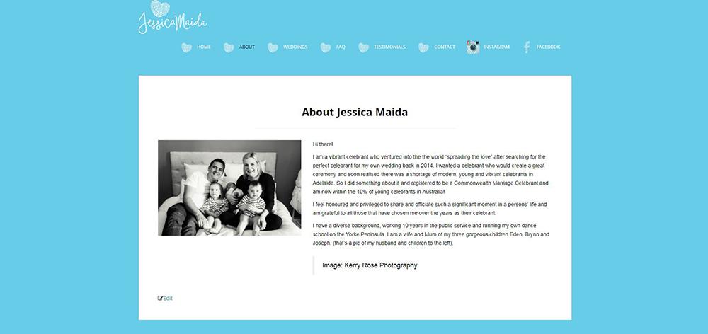 Jessica Maida Celebrant