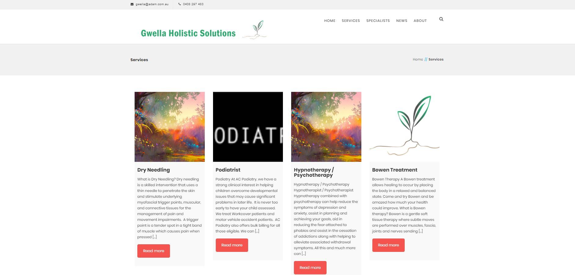 Gwella Holistic Solutions
