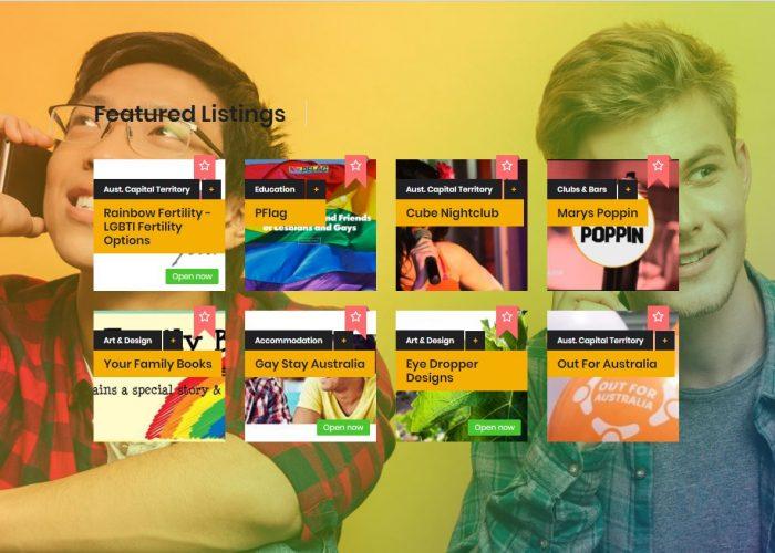 Queer As Peas LGBTI Directory