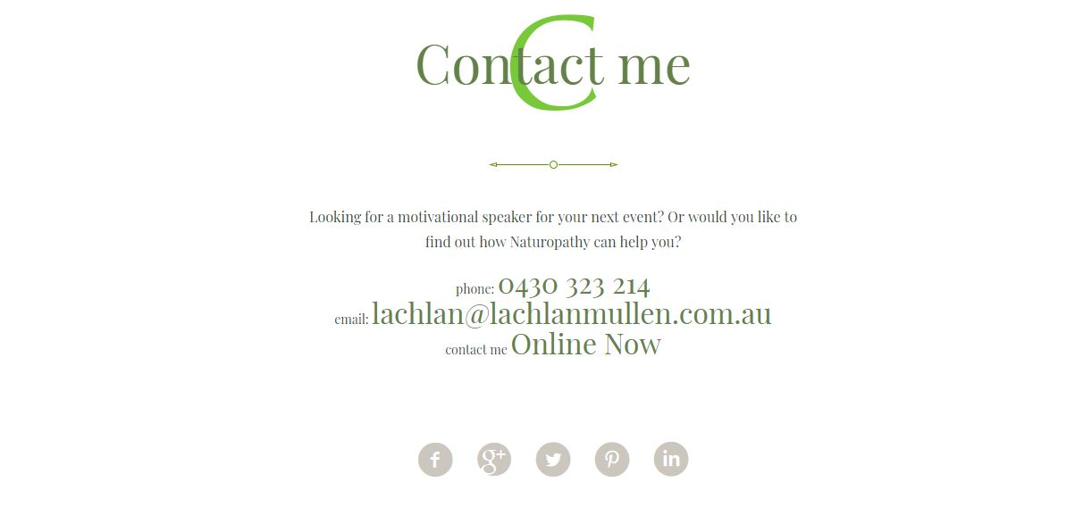 Lachlan Mullen contact