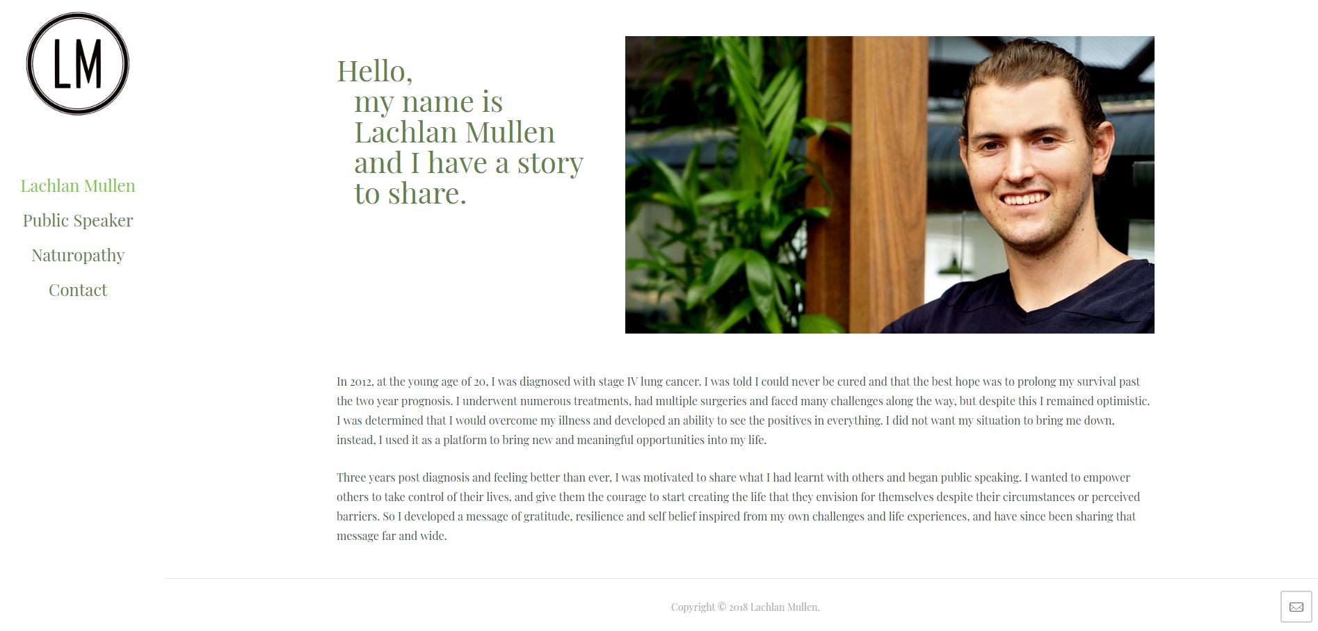 Lachlan Mullen home